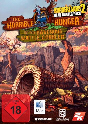 Borderlands 2: The Horrible Hunger of the Ravenous Wattle Gobbler DLC [Mac Steam Code]