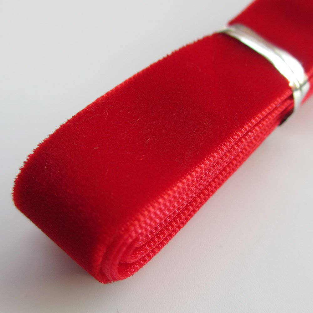 "Chenkou Craft 20 Yards 5//8/"" Velvet Ribbon Total 20 Colors Assorted Lots Bulk"