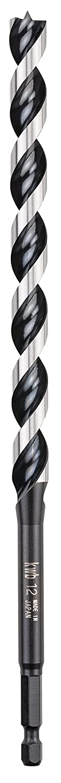 kwb Akku-Top 3-S Japan Schlangenbohrer – 20 mm Holz-Bohrer mit Sechskant-Schaft 1/4' 042920
