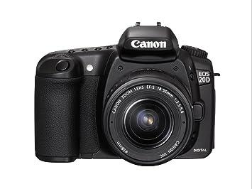 Canon EOS 20D - Cámara Réflex Digital 8.2 MP (Cuerpo): Amazon.es: Electrónica