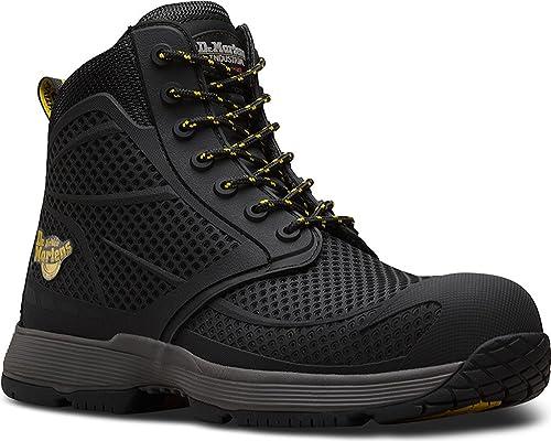 d4c72cdd50c Dr. Martens Men's Calamus Non-Metallic Electrical Hazard Composite Toe  7-Eye Boot