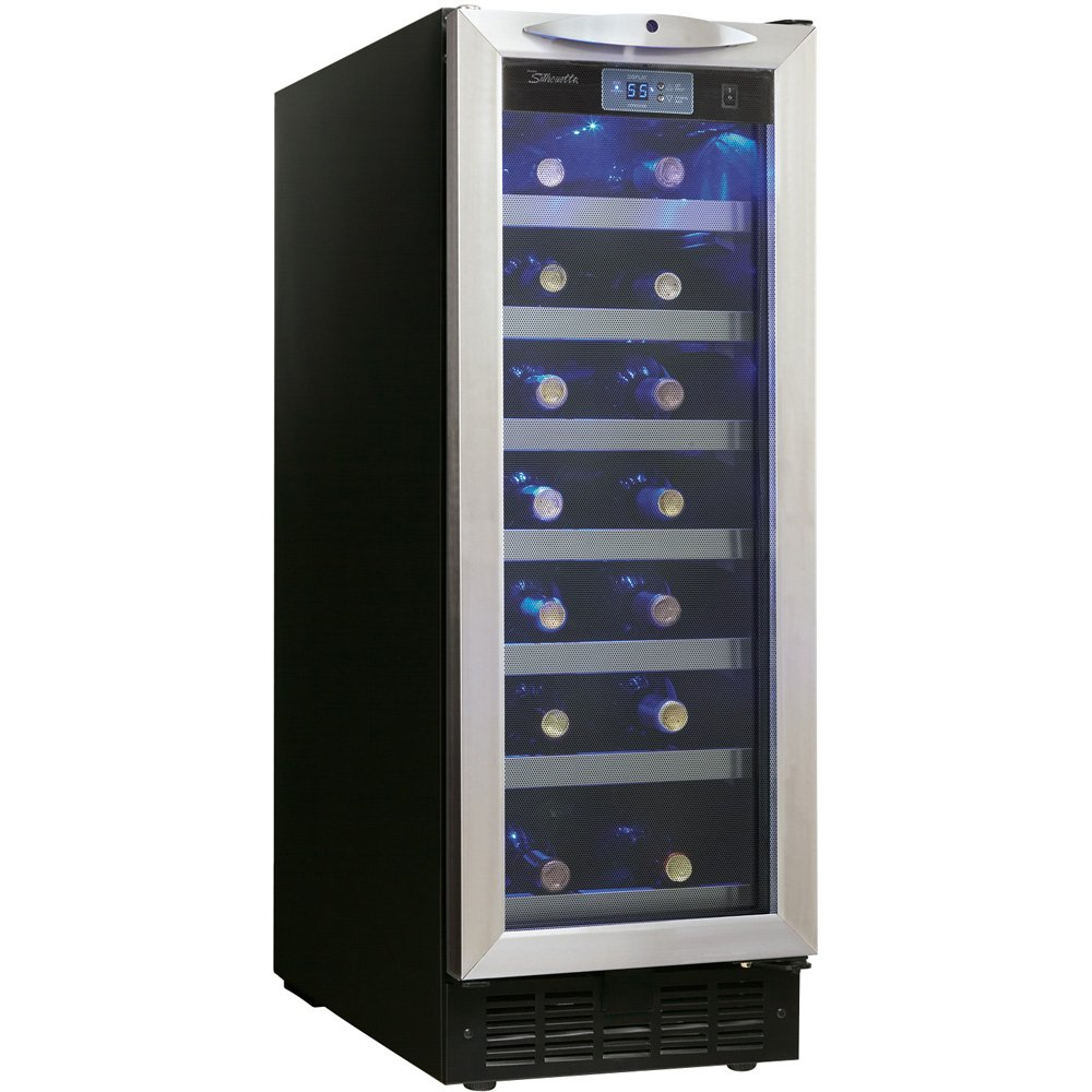 Amazon.com Danby DWC276BLS 27-Bottle Silhouette Wine Cellar - Black/Stainless Appliances  sc 1 st  Amazon.com & Amazon.com: Danby DWC276BLS 27-Bottle Silhouette Wine Cellar - Black ...