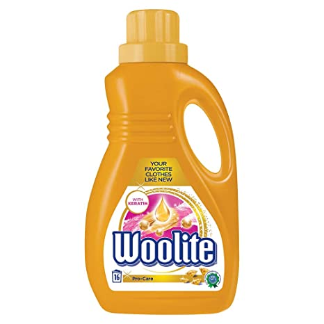 Woolite Laundry Liquid Detergent, Pro-care - 1 l (Gold)