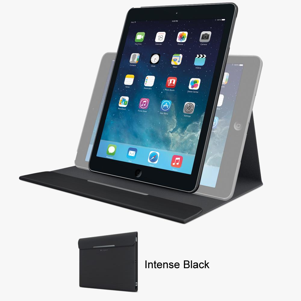 logitech big bang impact protective case for ipad air forged graphite 939 001042. Black Bedroom Furniture Sets. Home Design Ideas