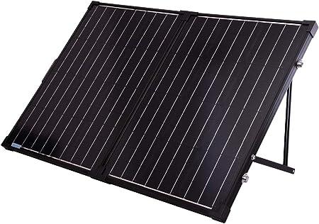 tside facing renogy 100 watt solar panel