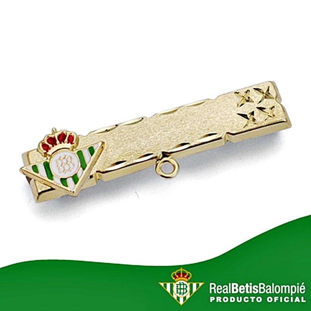 Alfiler escudo Real Betis oro de ley 18k bebé esmaltado [8616GR ...