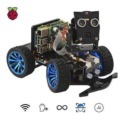 Buy Adeept Mars Rover PiCar-B WiFi Smart Robot Car Kit for