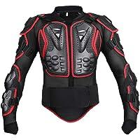 Chaqueta GES con armadura protectora para motocicleta, ropa de protección