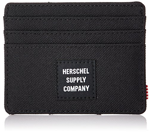 Herschel Felix Wallet Para De Black Tarjetero Crédito Rfid Tarjetas r6A4qr