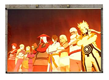 Amazon.com: Canvas Wall Scroll Poster - N Ultimate Ninja ...