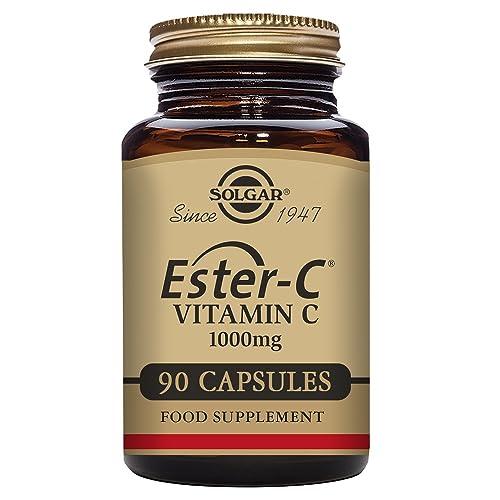Solgar Ester-C 1000 mg Vitamin C Capsules - Pack of 90
