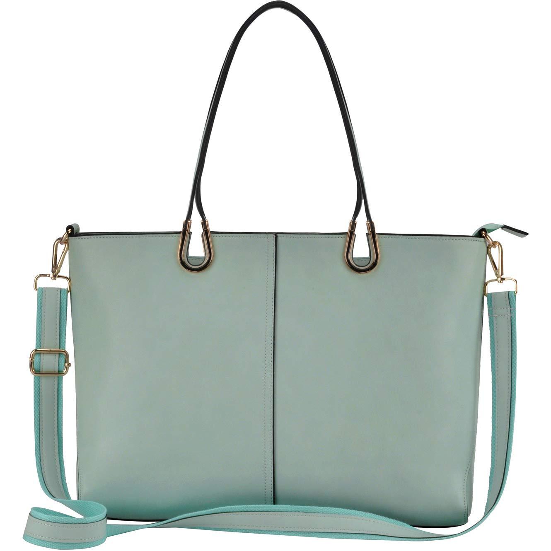 Laptop Tote Bag,Business Laptop Bag 15.6 inch,Large Tote Bag for Work[L0017/green]