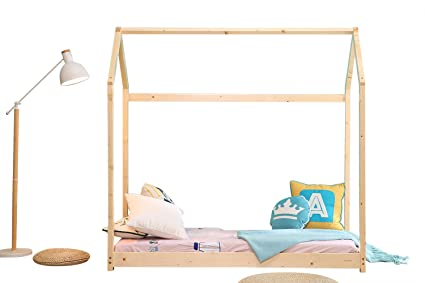 Bestmart INC House Bed Frame Toddler Bed Cabin Bed Floor Bed Children Furniture  sc 1 st  Amazon.com & Amazon.com: Bestmart INC House Bed Frame Toddler Bed Cabin Bed ...