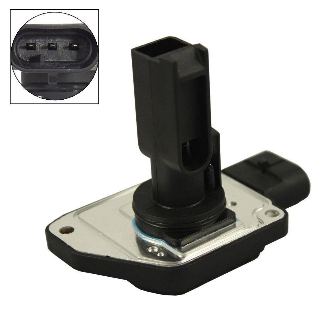 Carrep Mass Air Flow Meter Sensor MAF Sensor for Buick Chevrolet Oldsmobile Pontiac AFH50M-05 3.8L 3Pin