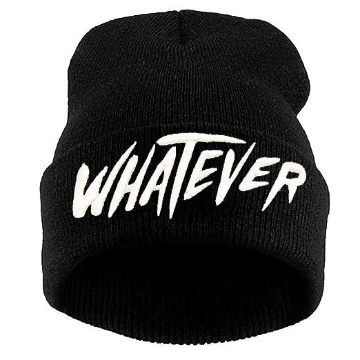 8147e16f545 Amazon.com  Black Beanie Hats
