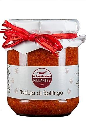 Nduja di Spilinga - Embutido picante Calabrese muy cremoso – perfecto para la pasta, pizza
