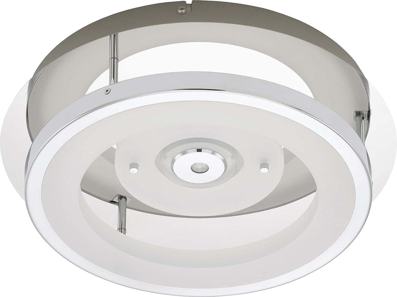 Briloner LED-Deckenleuchte chr/metal-Kunststoff 3668-028: Amazon ...