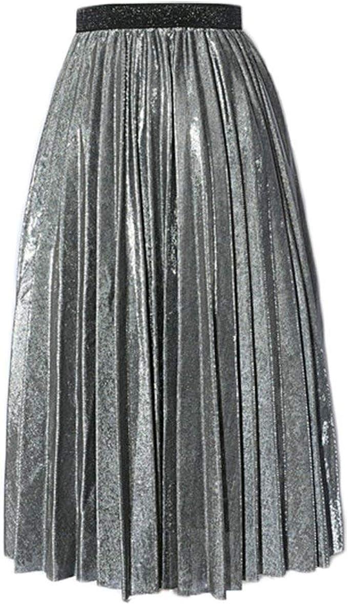 Falda De Verano Vintage Elegante Mujer para Falda Playa De ...