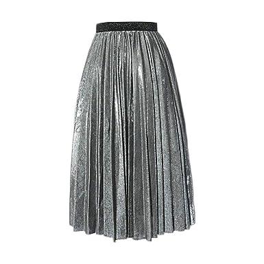 Falda De Verano Vintage Elegante Mujer para Falda Playa De Moda ...