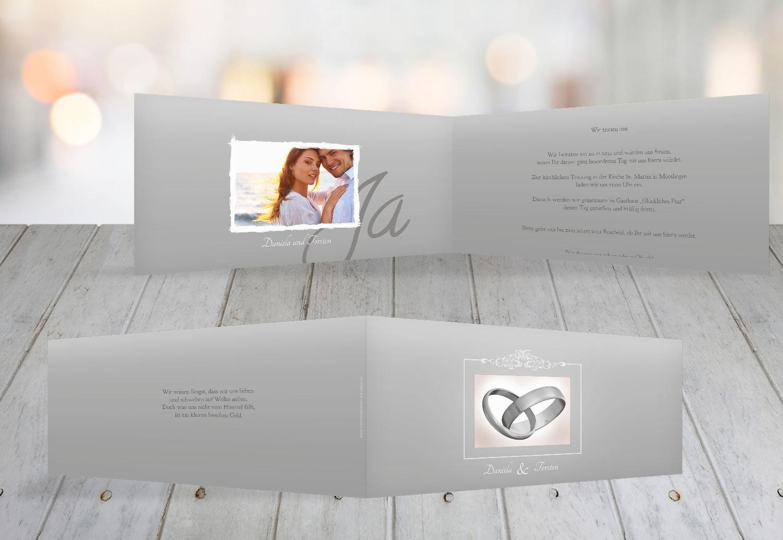 Kartenparadies Hochzeitskarte Hochzeit Einladung Din Ringetausch, hochwertige hochwertige hochwertige Einladung zur Heirat inklusive Umschläge   10 Karten - (Format  215x105 mm) Farbe  flamingoOrangerot B01NBWH1TD | Mama kaufte ein bequemes, Baby ist glücklich  | Die Quali 9d6de8