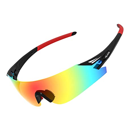 11808a3c37 Amazon.com  ALKAI Men s Apollo Polarized Sport Sunglasses  Sports ...