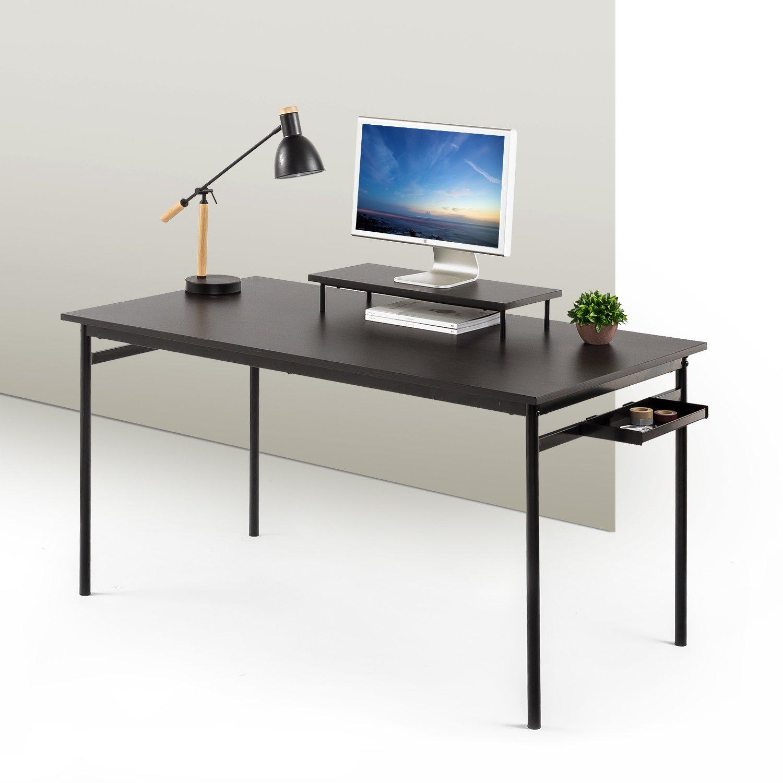 Zinus Tresa Computer Desk / Workstation in Espresso, Large by Zinus