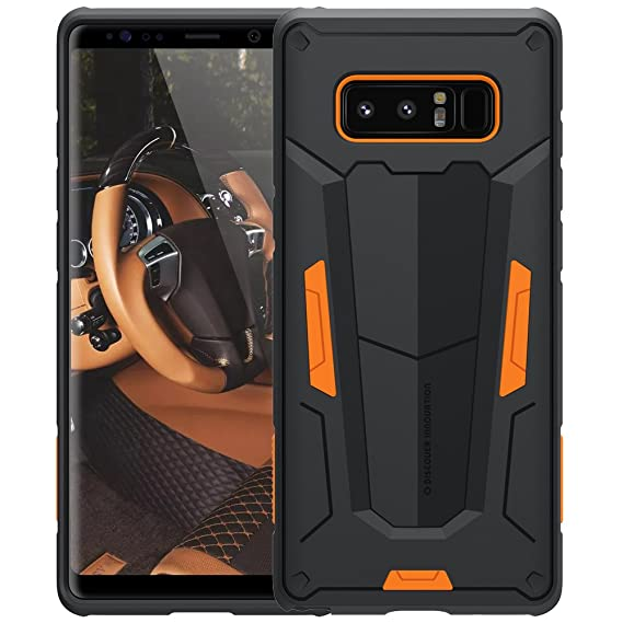online store 72a84 13459 Galaxy Note 8 Case, Nillkin [Defender II] - Orange [Drop  Protection][Anti-Scratch][Armor Hybrid][Shockproof][Heavy Duty][Slim Fit]  for Samsung Galaxy ...