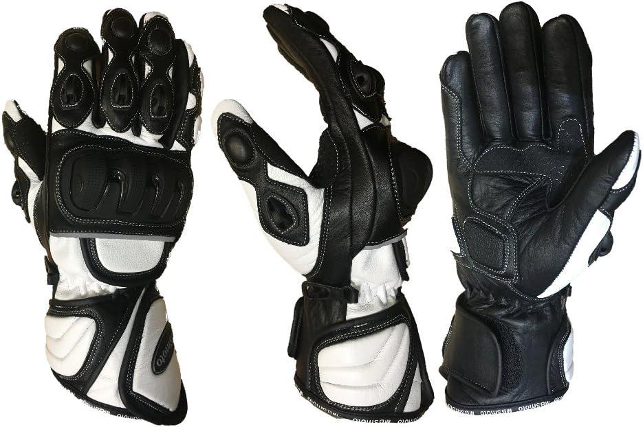in poliuretano sportivi Mbsmoto MBG25/guanti da moto lunghi di protezione
