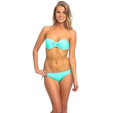 super populaire sans précédent bas prix Amazon.com: Womens Underwire Bandeau Bikini Swimsuit Top ...