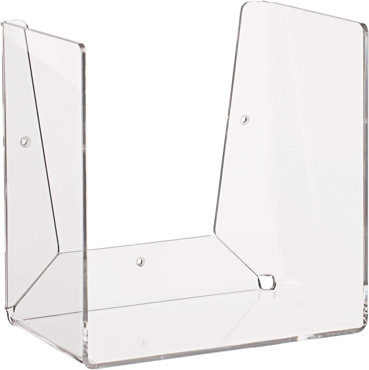 Q-Bik mensola Contenitore componibile Design plexiglass LuceSolida Ambra Trasparente