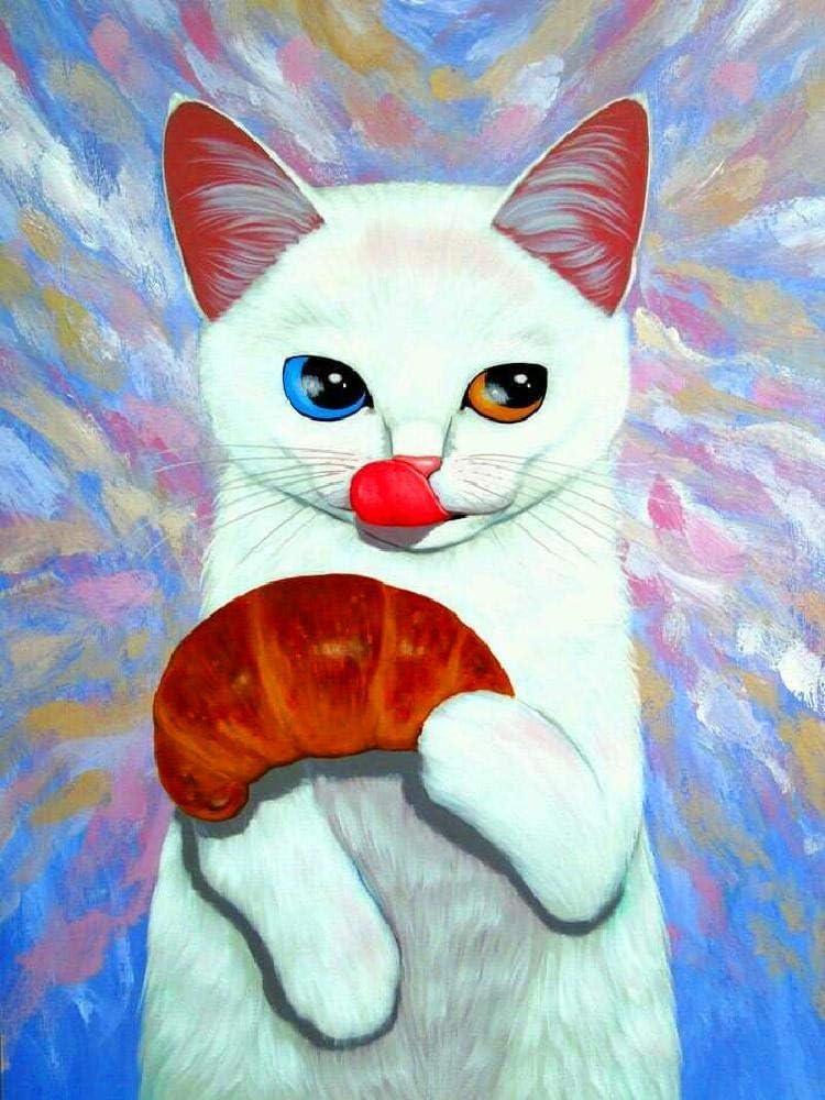 Puzzle 1000 Piezas Gato Comiendo Puzzle Para Adultos Puzzle De ...