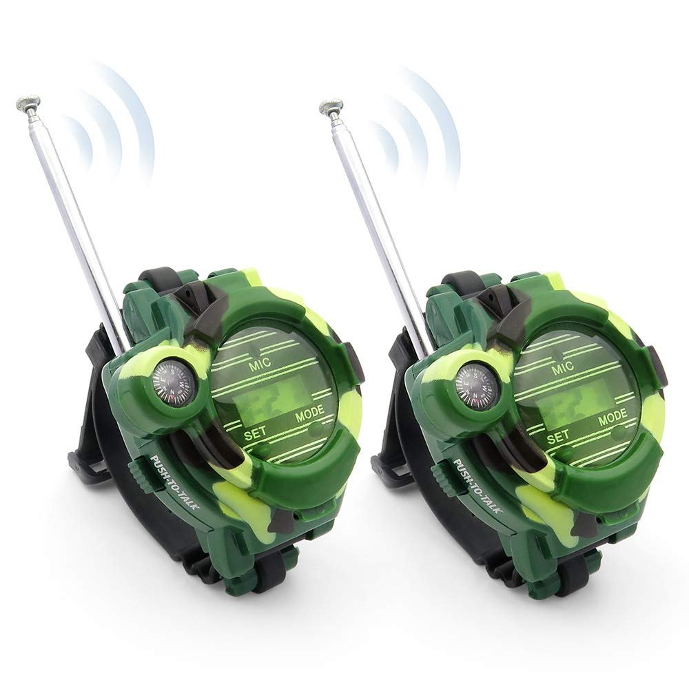Kids Walkie Talkies, XHAIZ Long Range Walky-Talky Watch for Kids, Cool Outdoor Gifts For Boys and Girls