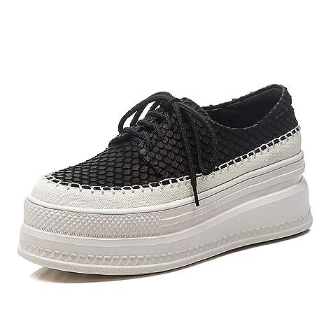 801 Ginnastica Stringate Zeppa scarpe Con Da Basse Sneakers mwoook xdBoCe