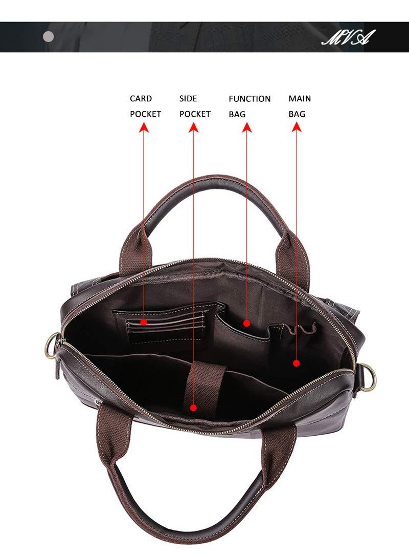 Vintage Handmade Leather Messenger Bag for Briefcase Satchel Bag