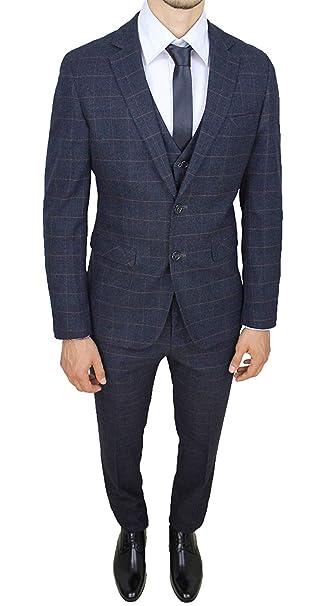 gilet grigio soto giacca blu
