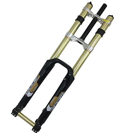 b0f099f8c8e Amazon.com : Bicycle Fork 26'' DH Downhill Fork Suspension New Zoom ...