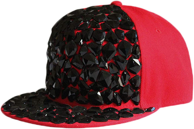 EkarLam Unisex Leisure Fashion Baseball Cap Hip Hop hat Outdoor Punk Boys Girls Hat