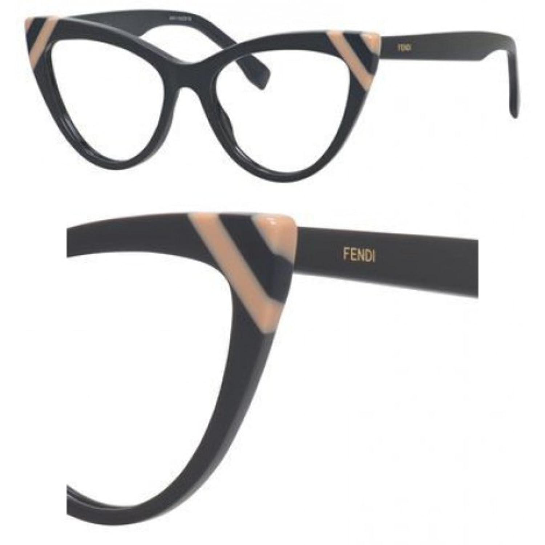 FEN Plastic Cat Eye Eyeglasses 51 0KB7 Gray at Amazon Women\'s ...