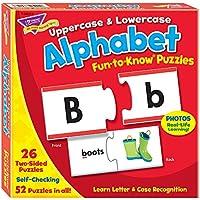 Trend Upper/Lowercase Alphabet Puzzle Set