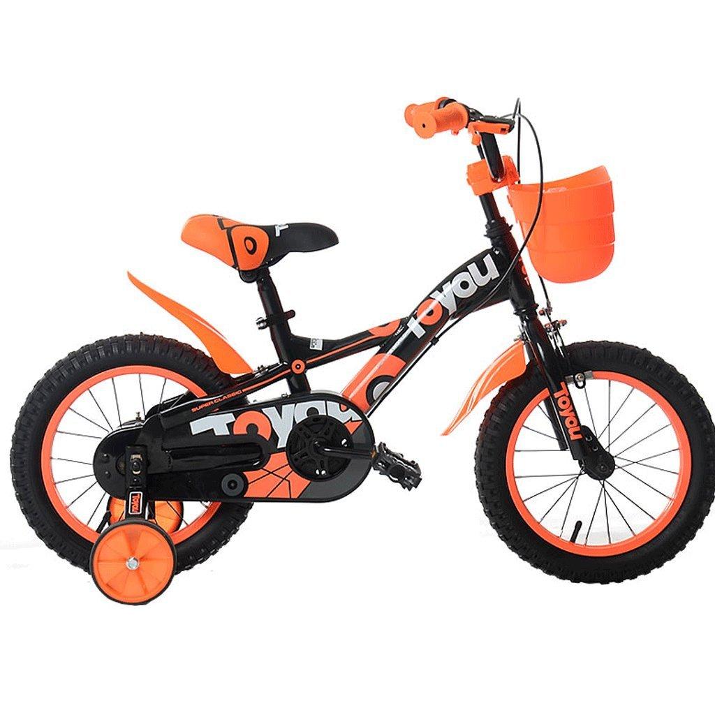 子供の自転車12/14/16/18インチの男の子の自転車2~12歳のベビーボーイのベビーカー (サイズ さいず : 16 inches) B07D56T2Y8 16 inches 16 inches