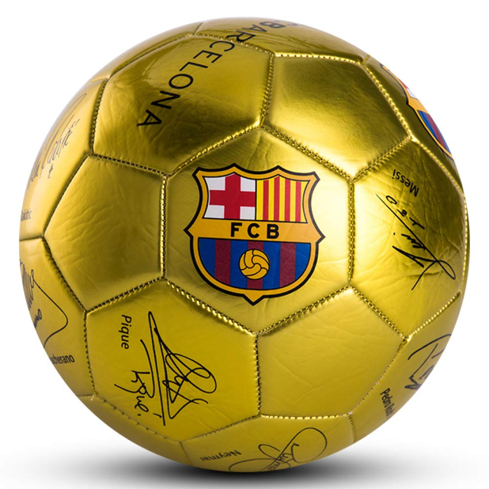 XWH Barcelona authorized Messi signature section 5 childrens primary secondary school training competition football