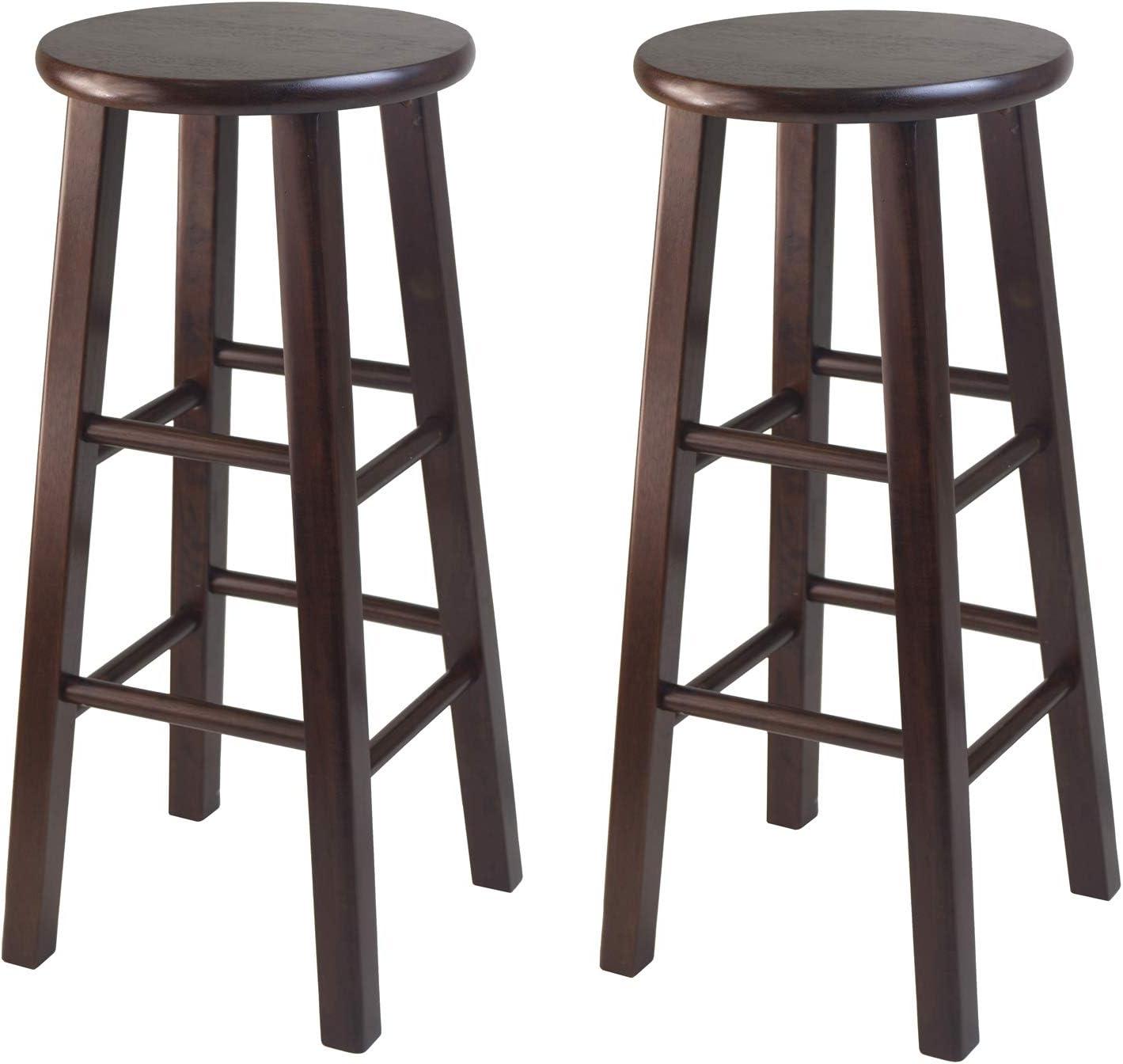 5. Winsome 29-Inch Square Leg Bar Stool