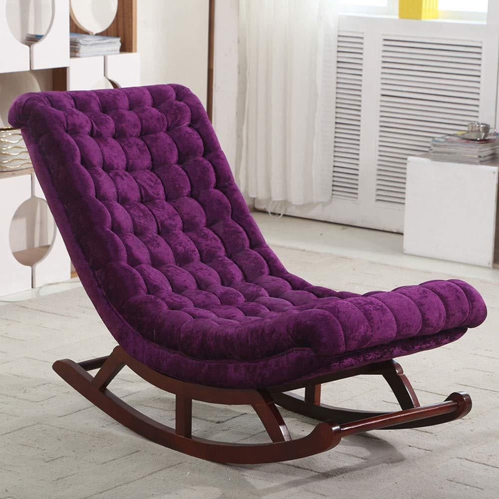 disfruta ahorrando 30-50% de descuento C Nordic Wind Lazy mecedora de madera madera madera maciza, reclinable de lectura de la oficina de la silla del sillón de la siesta de la tela usada en la oficina de la sala de eEstrella (tamaño  106  47  140  60cm)  comprar descuentos