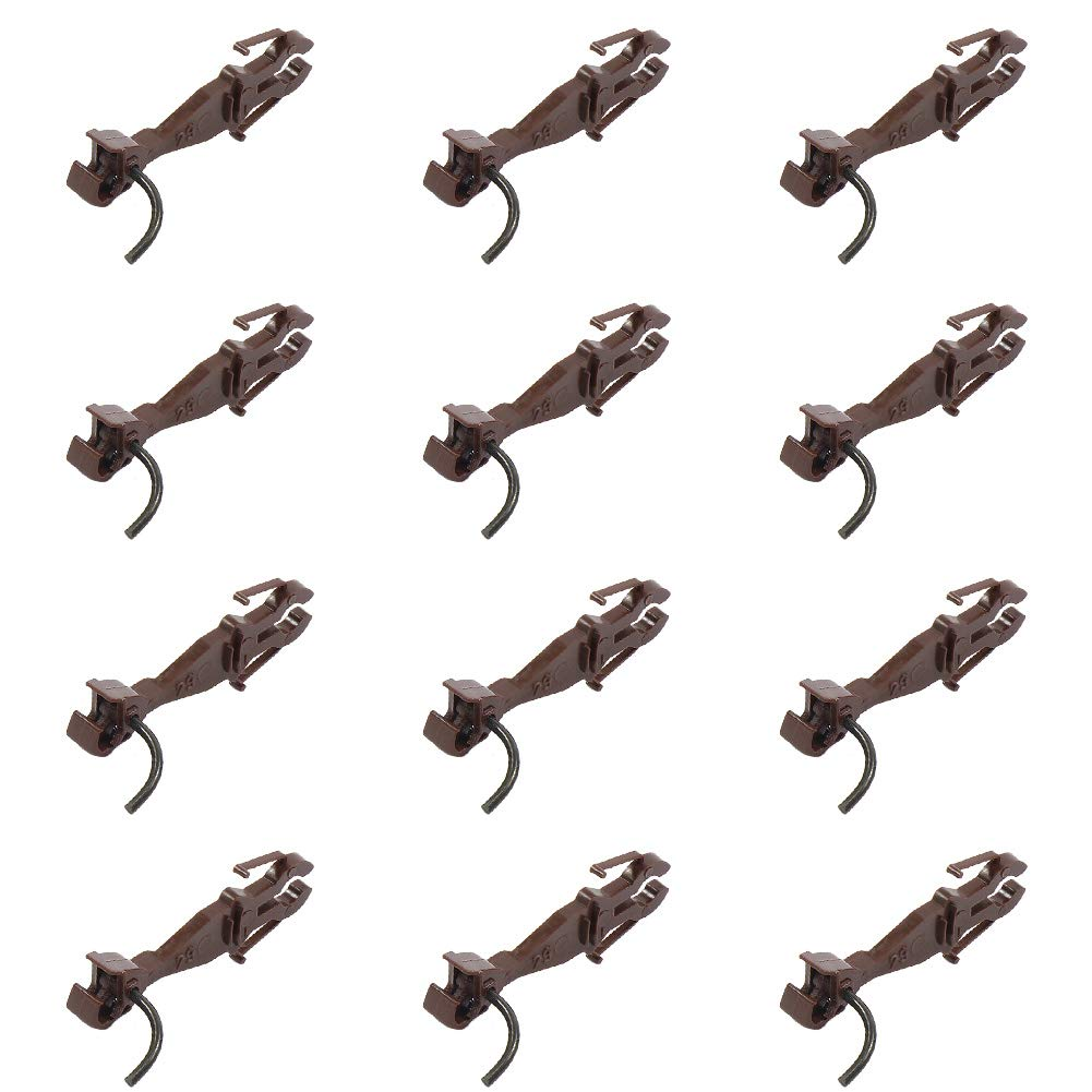 Evemodel HP0987 12pcs Couplers Train ho Scale Knuckle Spring Coupler DIY Accessories Hooks for Freight Car Trains Railroad New