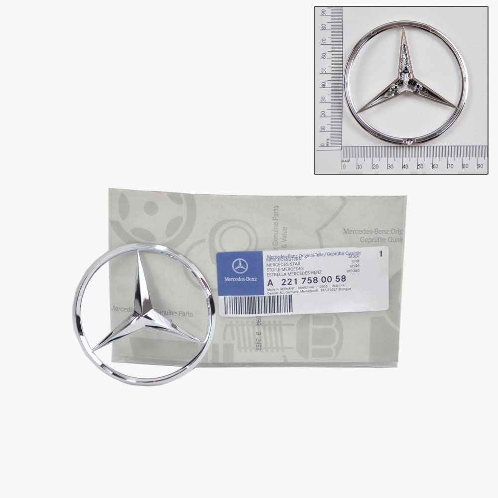 """Chrome /""""S350/"""" High quality Rear Trunk Emblem Decal Badge FOR Mercedes Benz S350"""