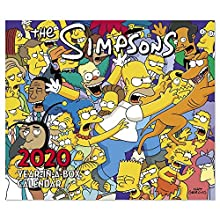 2020 The Simpsons Year-In-A-Box Calendar (LMB2450020)