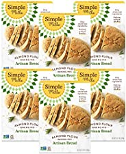 Simple Mills Almond Flour Baking Mix, Gluten Free Artisan Bread Mix, Made with whole foods