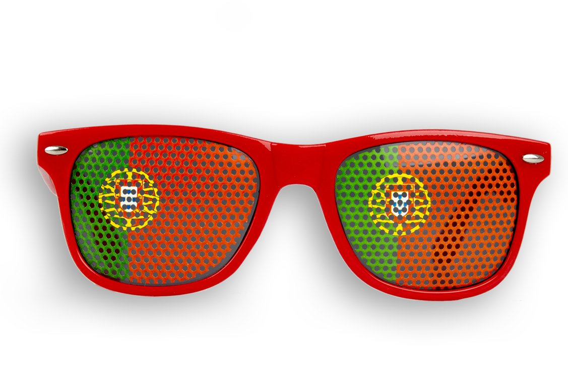 4 x Fanbrille Portugal - Portugal rEb2LX