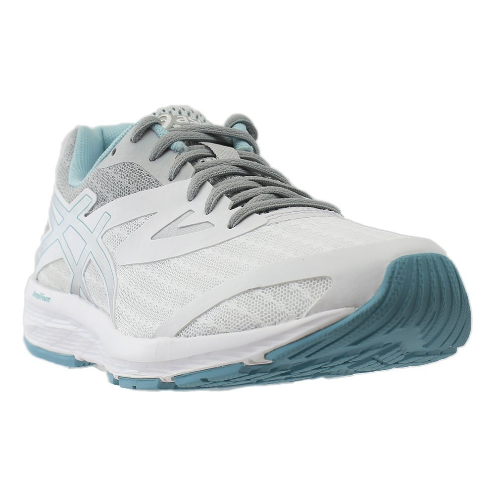 ASICS Women's AMPLICA Running Shoe B07289HBD8 8.5 B(M) US|White/Silver/Porcelain Blue
