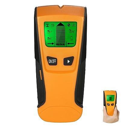 4EVERHOPE 3 en 1 Detector de metales Stud Center Finder Escáner de pared detector de metal
